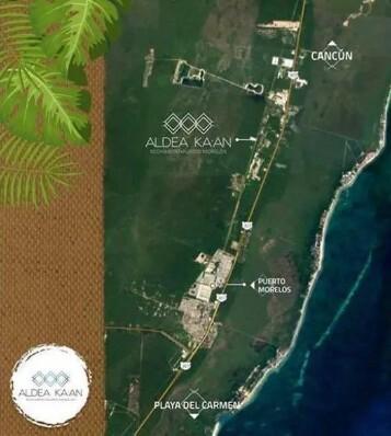 Aldea Ka´an Map